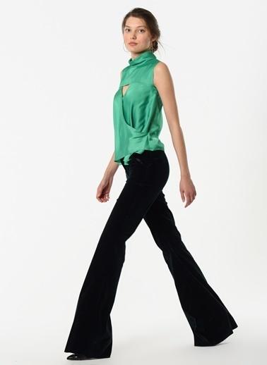 Özlem Kaya Pantolon Yeşil